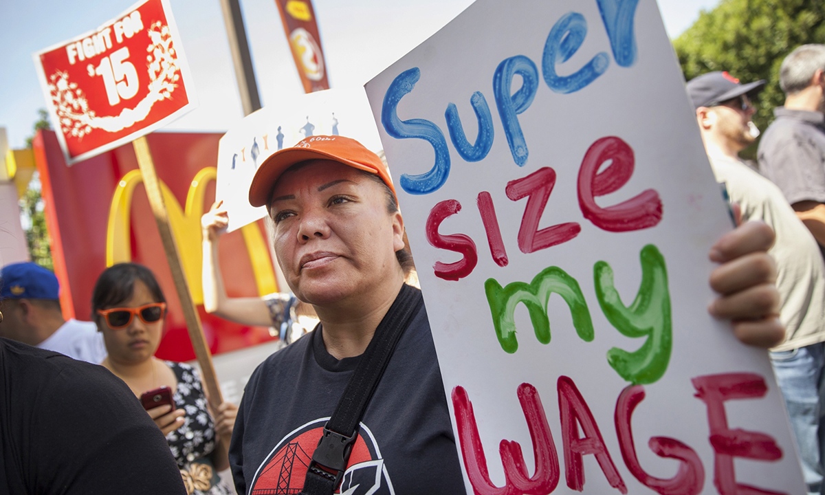 USA-Global Fast Food Worker Protest