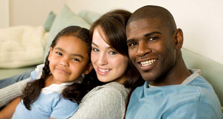 racially mixed marriage